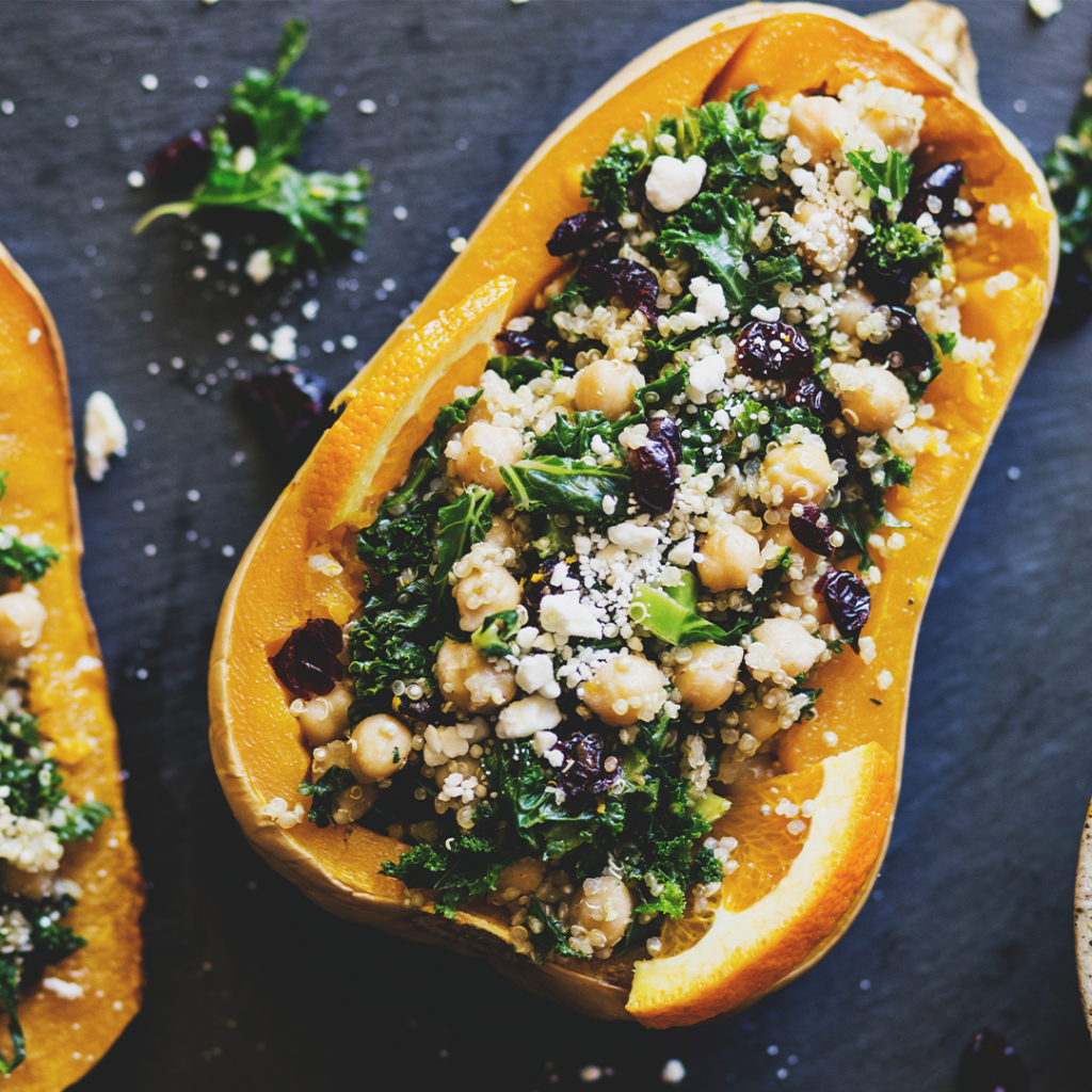 stuffed butternut.recept